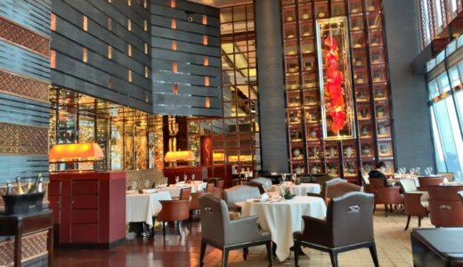 ザ・リッツ・カールトン香港の102階にあるミシュラン2つ星高級中華レストラン「天龍軒(Tin Lung Heen)」のディナーコースをレビュー